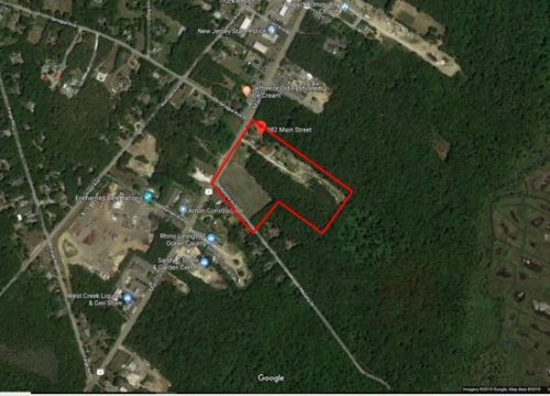 20 acres for sale in West Creek on Route 9! Zoned HC!