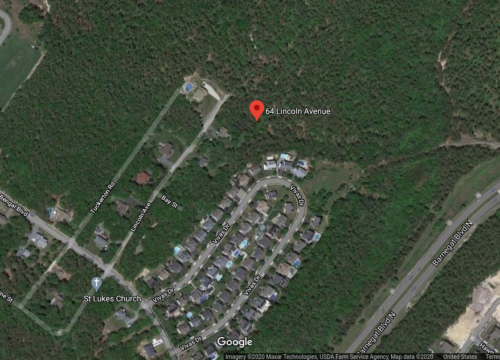Land parcel for Sale in Barnegat between the GSP and Route 9!
